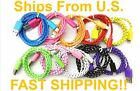 Braided USB Charger Cable Data Sync Charging Cord for Apple iPhone 5 5s 5c 6 6s