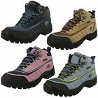 Ladies Campri Hiking Boots / Suede Leather / Lace Up