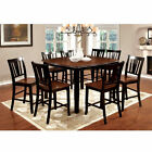 Newport 9-Piece Counter-Height Cherry Dining Table Set