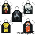 Novelty Funny Star Wars Darth Vader C-3PO Storm Troop DINNER PARTY COOKING APRON