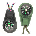 Mini Oil Filled Button Compass  Military Survival Clip-On Rucksack Jacket Zipper