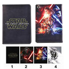 Cute Star Wars Hero Folio Leather Mangetic Case Stand Cover For iPad Air 6 Mini
