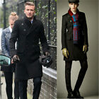 Winter Slim Fit Fashion Men's Woolen Coats 2014 Korean Boutique Jacket Overcoat