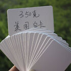 100pcs Kraft Paper Tag Memo Wedding Party Gift Cards Label Bookmarks White Best