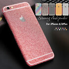 Bling Shining Glitter Full Body Decals Sticker Protect Case for iPhone 6 6s Plus