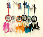 Colourful Dream Catcher with Suction Pad and Black Spider Web