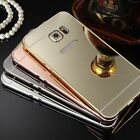 Luxury Aluminum Ultra-thin Mirror Metal Case Cover for iPhone and Samsung Models on Rummage
