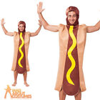 Adult Hot Dog Costume Unisex Novelty Food and Drink Fancy Dress Outfit New