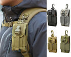 "Tactical 600D Molle 4.5"" Cell Phone Pouch Holster For Iphone 6 6S/Plus"