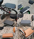 Bicycle Cushion Saddles Back Support Rest Bike Seat Chopper Road Seat 4 Types