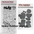 My Favorite Things CUTE CRITTERS Die-Namics Dies Miss Tiina Clear Stamps MFT536