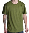 Alfani Men's Grass Green Speckle Crew Neck Tee Shirt
