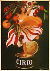 VINTAGE CIRIO ITALIAN FOODS ADVERT POSTER PICTURE PRINT Size A5 to A0 **NEW**