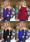 2016 New Spring T Shirt Women Tops Patchwork Sexy Long Sleeve Blouse Lace Blusas