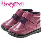 Girls Toddler - Leather Squeaky Ankle Boots - Purple