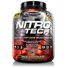 MuscleTech Nitro Tech 4 Lb Whey Protein Isolate + Free Expedited Shipping