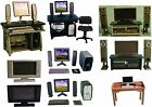 1:12 SCALE DOLLS HOUSE HOME CINEMA TELEVISION & DESK TOP COMPUTER TO CHOOSE FROM