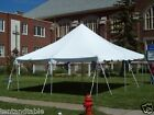 16oz Vinyl Pole Tents, (Select your Size), Commercial Awning, Wedding Event Tent