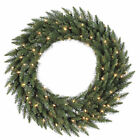 Camdon Fir Pre-Lit Artificial Wreath with LED Lights
