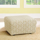 Sure Fit Stretch Ironworks Ottoman Slipcover
