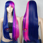 """32"""" Twilight sparkle- My little pony- Friendship is Magic Cosplay DNA Wigs A10"""