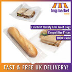 Film Front White Paper Bags! | Cellophane/Window/Clear/Sandwich/Food/Card/Cake!!