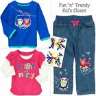 NWT 4-PC SET Gymboree COLOR HAPPY Girls Size 5T Jeans Tee Shirts Top Hair LOT