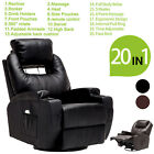 Kyпить Electric Body Massage Chair Recliner Ergonomic Lounge Swivel Heated Sofa w/ RC на еВаy.соm
