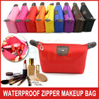 Waterproof Zipper travel Cosmetic Makeup Purse Handbag Pouch Pen Pencil Case Bag
