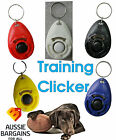 Dog Pet Puppy Click Clicker Training Obedience Trainer Aid Not With Wrist Strap