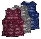 New Tangerine Women's Active Insulated Packable Puffer Vest with Hood