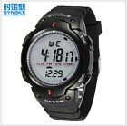 SYNOKE LED Digital Watch Stopwatch Sport Watch Man Waterproof Wristwatches