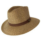 Cancer Council Outback Foldable Fedora- Chocolate