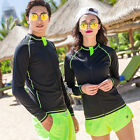 Hot Unisex Men Women Scuba & Snorkeling Wetsuit Rash Guard Surfing Surf Clothing