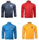 FC Barcelona Kids Jacket Zip Track Soccer Football Lionel Messi Youth Sizes