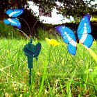 Various Colors Solar Powered Flying Butterflies on Stake for Garden Plants Decor