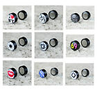 2pcs Funky Stainless Steel Non Pierced Magnetic Stud Earrings 12 Designs Unisex