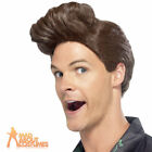 90s Ace Ventura Brown Wig Jim Carrey Pet Detective Fancy Dress Costume Accessory
