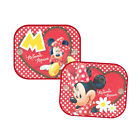 2x Disney Minnie Mouse Sunshade Baby Girl Kids Children Car Window Sun Shades