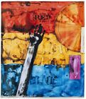 JASPER JOHNS 'Red, Yellow, Blue', 2011 Oversized Beach Towel SOLD-OUT Ltd Ed NWT