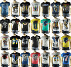 Herren Shirt Printshirt Motiv Kurzarm Cotton Figurbetont Party Shirt M L XL