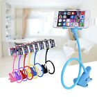 Universal Lazy Bed Desktop Stand Mount Car Holder For Cell Phone Long Arm 1PC