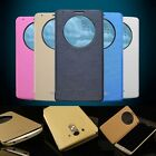 Ultra Slim Quick Circle Window Case Cover For LG Optimus G3 +Screen Protecter