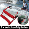 More images of 2x Marine Boat Outboard Engine Motor Kill Stop Switch Tether Cord Lanyard Yamaha