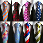 Mens Silk Tie Neck Ties For Men 2017 Jacquard Woven Floral Neckwear Wedding New