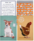 Ulster Weavers 100% Cotton Tea Towel Jack Russell Penny the Hen Whose Job Is It