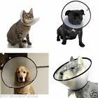 CONE OF SHAME Dog Cat Pet Protective Wound Head Collar Ring Funnel Guard Ring