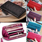2018 Fashion Women Wallets Purse long mobile handbag Leather zip clutch wallet