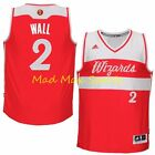JOHN WALL Washington WIZARDS Red CHRISTMAS DAY Adidas SWINGMAN Jersey Size S-XXL