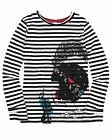Deux par Deux Girls' Striped Top Music Hall, Sizes 7-12